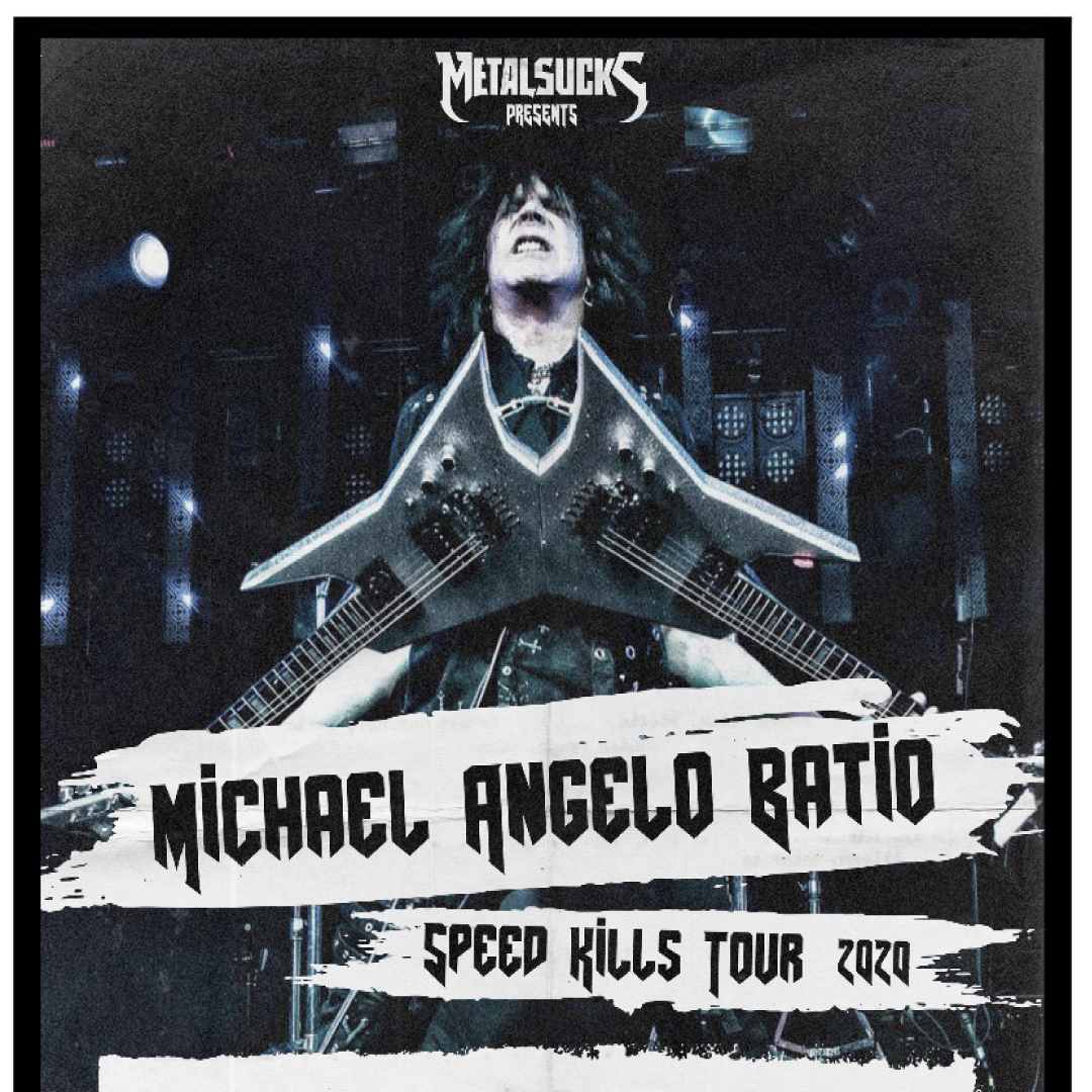 Alabama Tour 2020.Michael Angelo Batio Speed Kills Tour Alabama Music Box